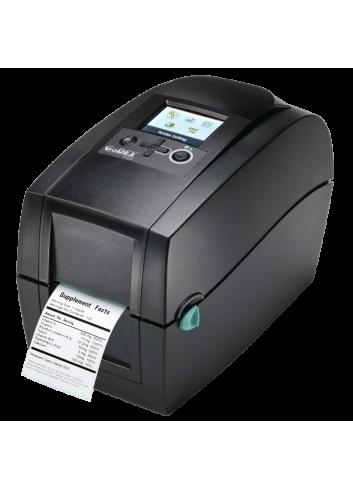 Drukarka nalepek Godex, Biurkowa drukarka etykiet, termotransferowa drukarka etykiet