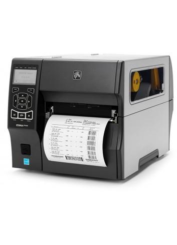 Półprzemysłowa drukarka etykiet Zebra ZT420, drukarka naklejek Zebra ZT420 drukuje nalepki o szerokości 178mm