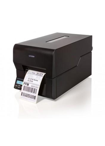 Półprzemysłowa drukarka etykiet Citizen CL-E730, termotransferowa drukarka nalepek Citizen CL-E730