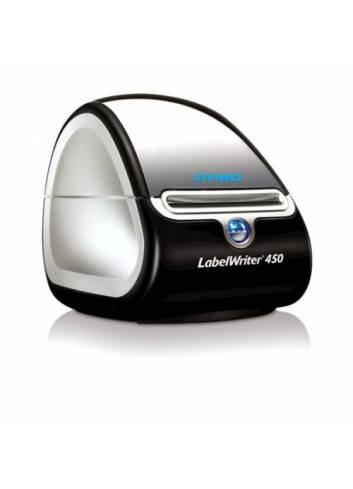 Biurkowa drukarka etykiet Dymo, drukarka nalepek, drukuje 51 etykiet na minutę, termiczna drukarka