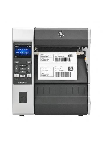Przemysłowa drukarka etykiet Zebra ZT620, szybka termotransferowa drukarka nalepek Zebra ZT620