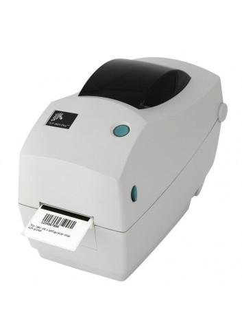 Biurkowa drukarka etykiet Zebra TLP2824 Plus, termotransferowa drukarka nalepek