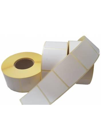 Etykiety papierowe termiczne o szerokości 105mm i wysokości 148mm.