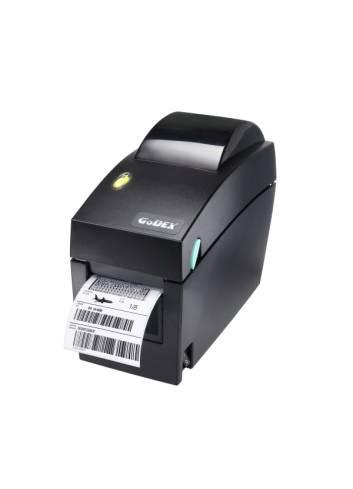 Biurkowa drukarka etykiet Godex DT2, 2 calowa drukarka nalepek, drukarka termiczna