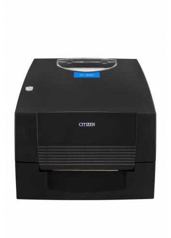 Biurkowa drukarka etykiet Citizen CL-E321, prosta w obsłudze drukarka nalepek, termotransferowa drukarka etykiet