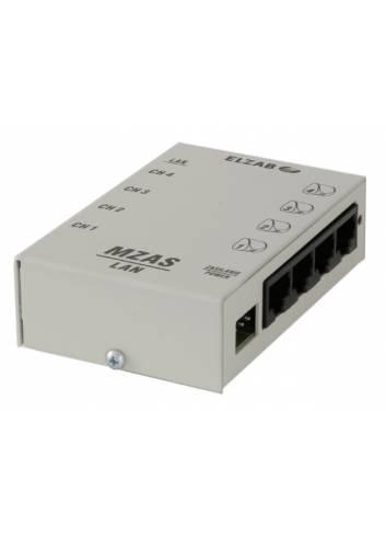 Moduł zasilania MZAS do sieci LAN do sprawdzarek cen ELZAB