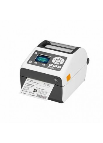 Biurkowa drukarka etykiet Zebra ZD620d HC, drukarka nalepek dla służby zdrowia