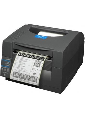 Biurkowa drukarka etykiet Citizen CL-S521, termiczna drukarka nalepek Citizen, niezawodna drukarka etykiet