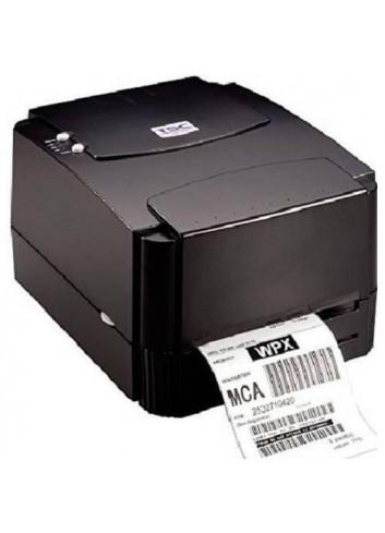 Biurkowa drukarka etykiet TSC, termotransferowa drukarka nalepek, drukuje z prędkością 152mm/sek.