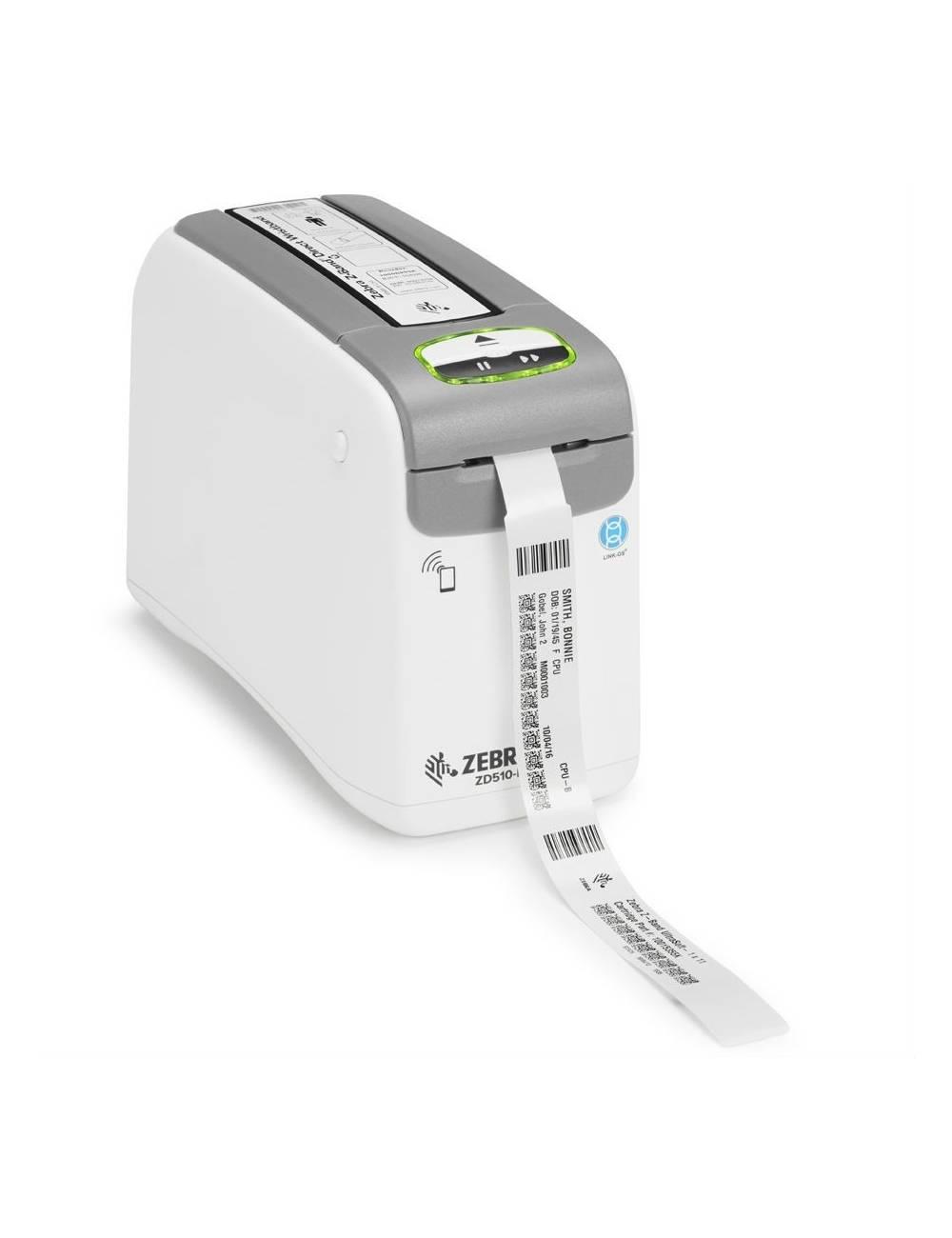 Nowa drukarka opasek na rękę Zebra ZD510, wydruk opasek identyfikacyjnych.